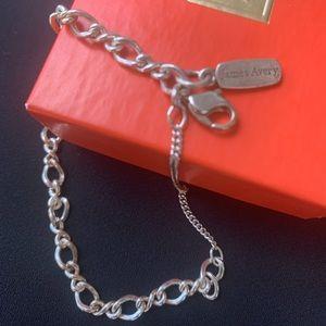 James Avery medium twist charm bracelet.